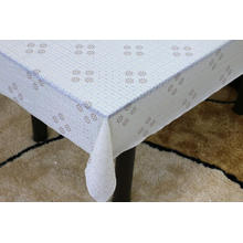 Printed pvc lace tablecloth by roll tropical