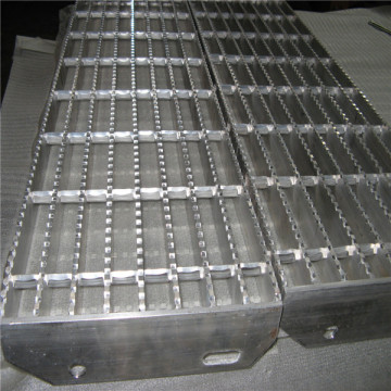 Anti-slip Steel Grating Stair Tread
