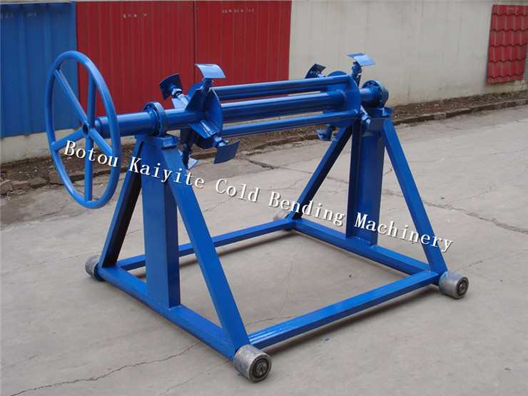 Manual Decoiler for machine