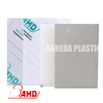 White Grey Black Natural Polypropylene Board