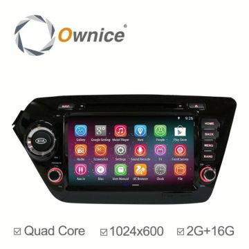 Purchasing for Double Din Av Navigation System Navigation Receiver with Carplay Kia K2 RIO 2014 export to Djibouti Supplier