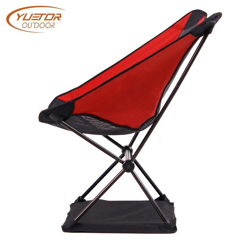 Ripstop Nylon Ultralight Aluminum Fold Up Travel Chair