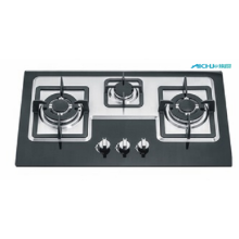 3 Burners Stainless Steel Built in Gas Stove