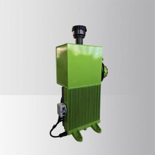 Concrete mixer hydraulic oil cooler