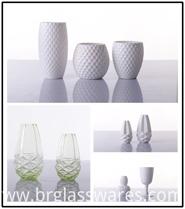 Hot Selling White colored glass diffsuer bottle