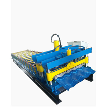 Circular are glazed tile roll forming machine