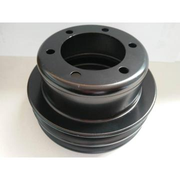 2V-belt water pump pulley e-coating black