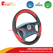 Sporty Curves Steering Wheel Cover Red