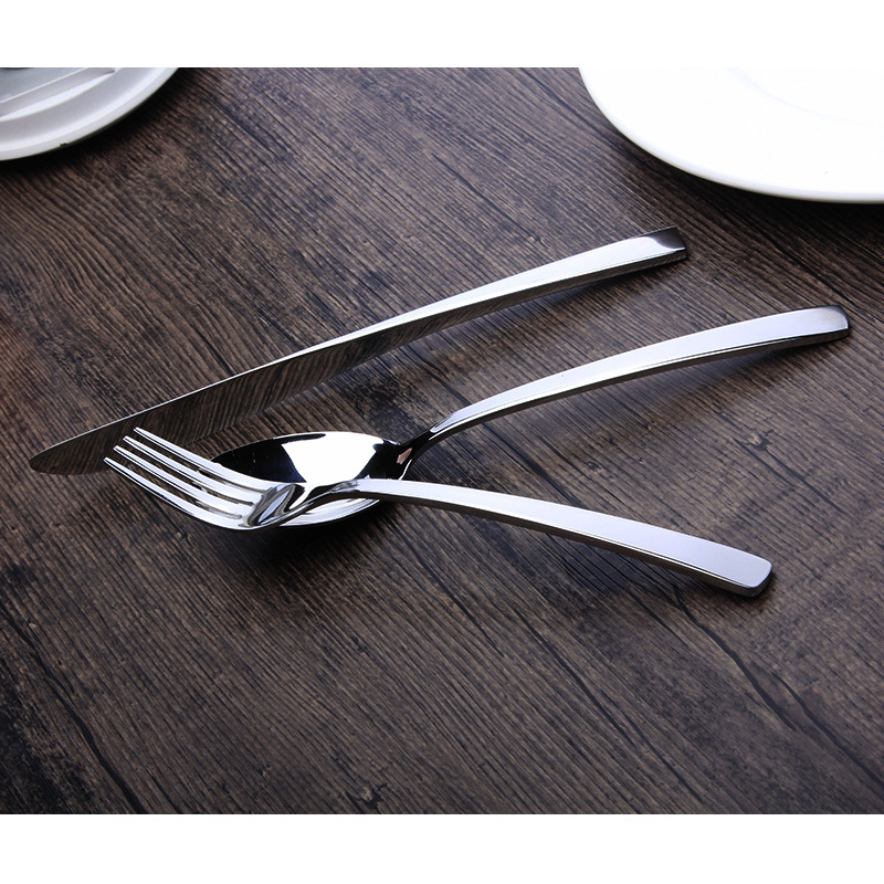 18-8 Bright Stainless Steel Flatware