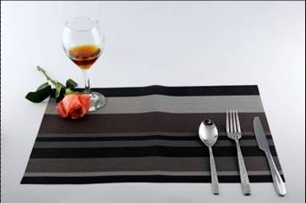 Stripe series of household business dining mat decoration1