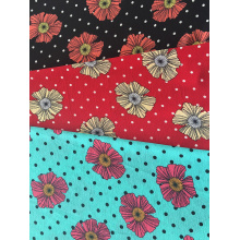 Professional for Bubble Plain Chiffon Dots Flower Design Polyester Bubble Crepe Printing Fabric supply to Burkina Faso Wholesale