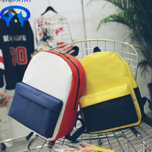 Custom color backpacks backpack with double shoulders