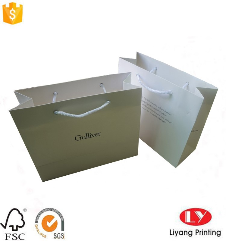 luxury paper shopping bag