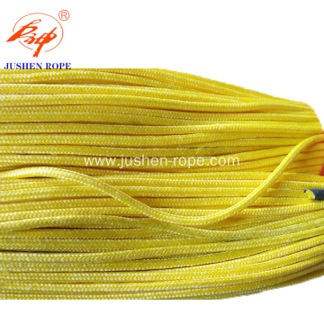 Yellow Double Braid Uhmwpe Rope