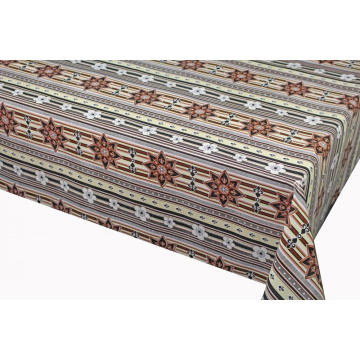 Pvc Printed fitted table covers Pottery Barn