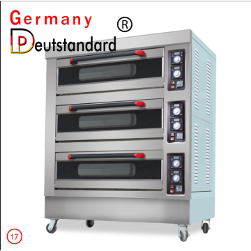 3 Deck 6 Tray Electric baking oven
