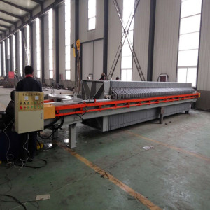 Automatic Hydraulic Metallurgy Plate Frame Filter Press