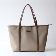 Nylon Leather Large Travel Business Laptop Tote Bag