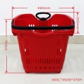 Wholesale plastic shopping baskets for supermarket