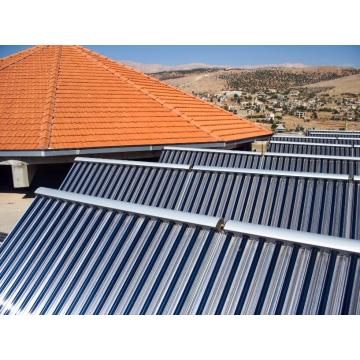 XL large scale CPC solar collector for solar thermal applications