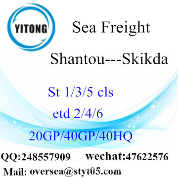 Shantou Port Sea Freight Shipping To Skikda