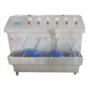 manual spray chrome machine