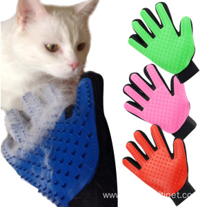 OEM Customized for Pet Brush,Pet Scissors,Pet Grooming Brush Manufacturers and Suppliers in China Deshedding Brush Glove for Animal Cat export to Bahrain Exporter