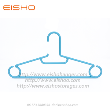 EISHO Recycle Rounded Plastic Hanger For Supermarket