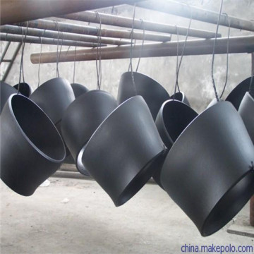 Black carbon steel concentric seam reducer