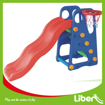 Indoor kids slide plastic