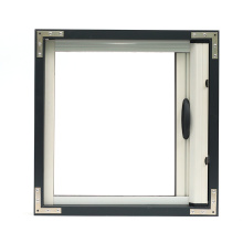UV-resistant retractable screen window in aluminum profiles