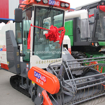 Sell efficient crawler threshing rice harvester philippines