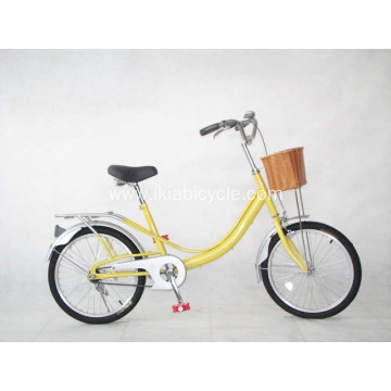 Steel Frame Lady Bicycle with Carrier