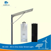 Customized for All-In-One Solar Street Light DELIGHT DE-AIO APP Control All In One Light export to Guadeloupe Exporter