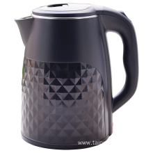 Double wall plastic with S/S electric kettle