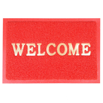 7mm PVC door mat print welcome Logo