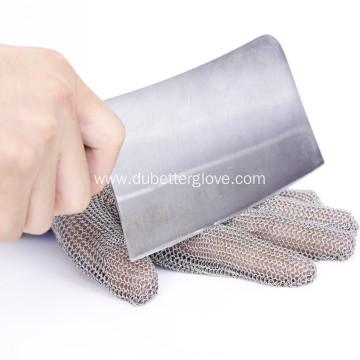 15cm Long Cuff Meat Processing Mesh Gloves