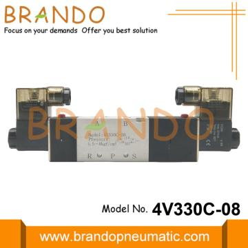 G1/4'' 4V330C-08 AirTAC Type Solenoid Valve Close Center