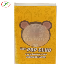 clear pp window kraft paper bag