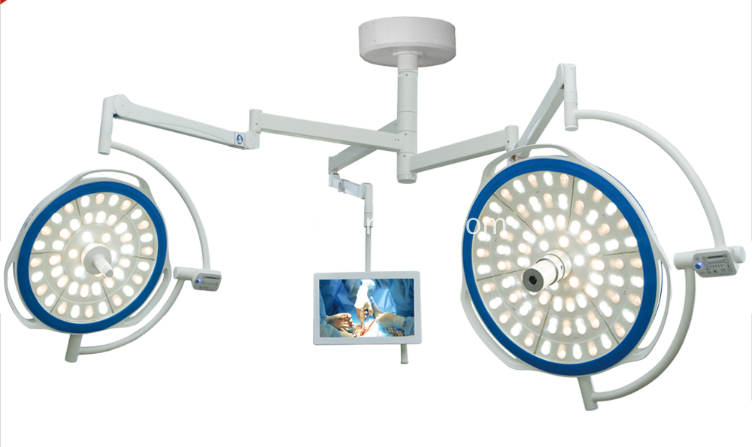 Round type OT surgical shadowless lamp