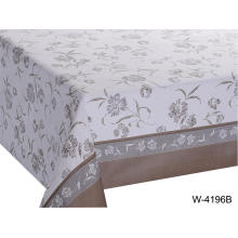 Elegant Tablecloth with Non woven backing Seater Oval