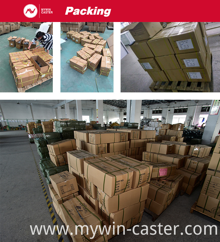 Medium Duty Metal Core Castor