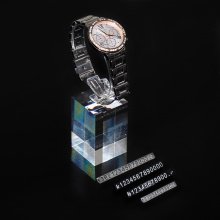 Clear acrylic watch display stand watch holder display