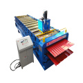 Automatic Double Trapezoidal Sheet Roll Forming Machine