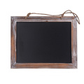 Garden decoration Framed hanging Kitchen school mini wooden blackboard