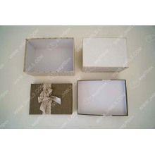 Quality Inspection for for Flower Packing Box Green linen bouquet gift box export to Kenya Supplier