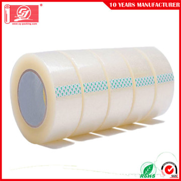 waterproof super clear bopp packing tape for cartons or boxes