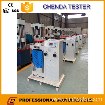 1000kn Digital Display Hydraulic Compression Testing Machine