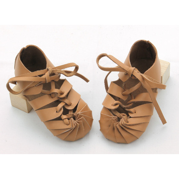 Quality Genuine Leather Soft Toddler Baby Sandals