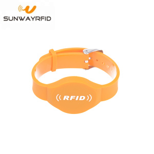 Best Price for Custom Event Wristbands Cheap passive PVC 1443a nfc 13.56mhz rfid wristband export to Swaziland Manufacturers